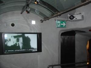 "Monitor 42"" Panasonic , projetor NEC"